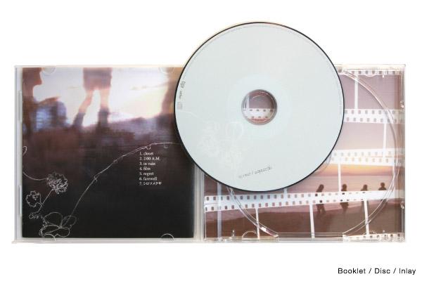 ブックレット/盤面/インレイ