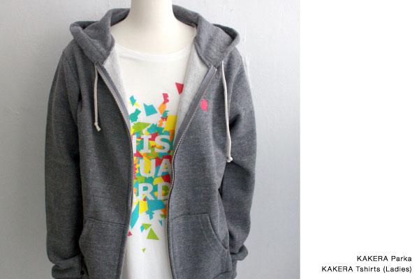 KAKERA パーカー/KAKERA Tシャツ(レディース)